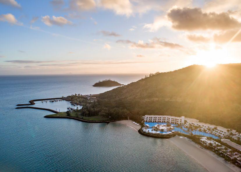 InterContinental Hayman Island Resort - Whitsunday Islands, Australia - Resort Sunset