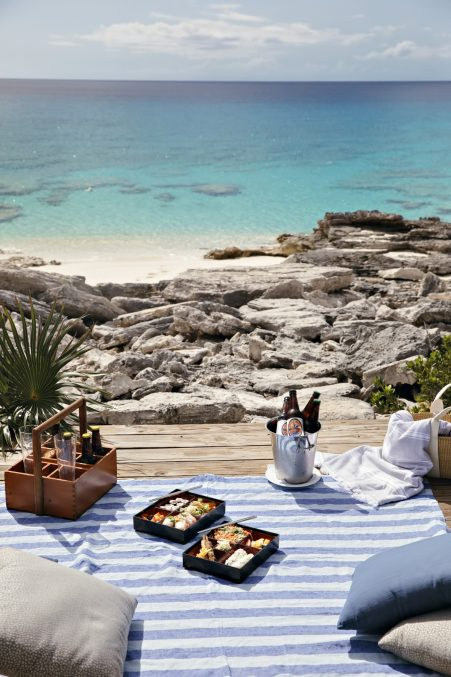 Amanyara Luxury Resort - Providenciales, Turks and Caicos Islands - Oceanfront Tropical Picnic