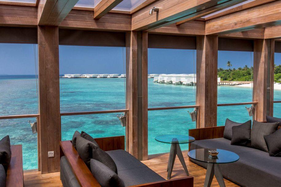 Amilla Fushi Luxury Resort and Residences - Baa Atoll, Maldives - Overwater Ocean Lounge
