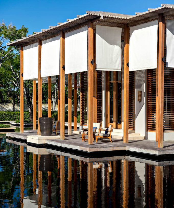 Amanyara Luxury Resort - Providenciales, Turks and Caicos Islands - Resplendent Tropical Architecture