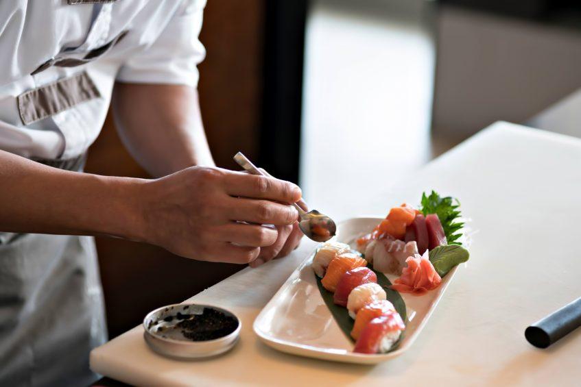 Cheval Blanc Randheli Luxury Resort - Noonu Atoll, Maldives - Culinary Dining Arts Sushi Chef