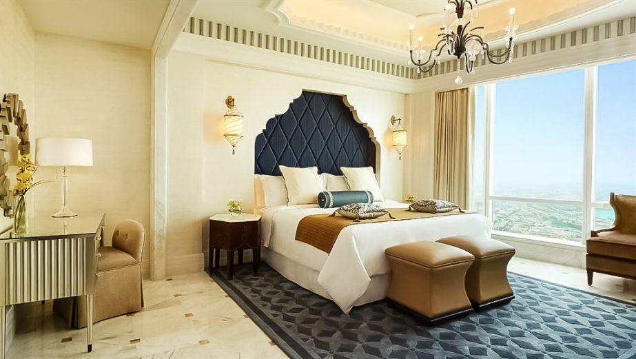 The St. Regis Abu Dhabi Luxury Hotel - Abu Dhabi, United Arab Emirates - Al Mushref Suite Bedroom