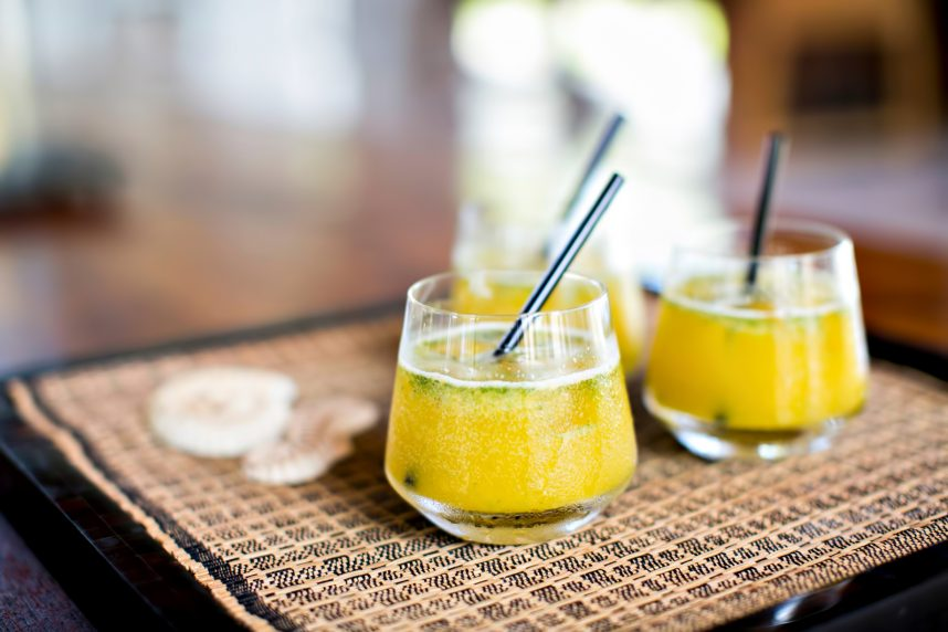 Amanyara Luxury Resort - Providenciales, Turks and Caicos Islands - Refreshing Tropical Cocktails