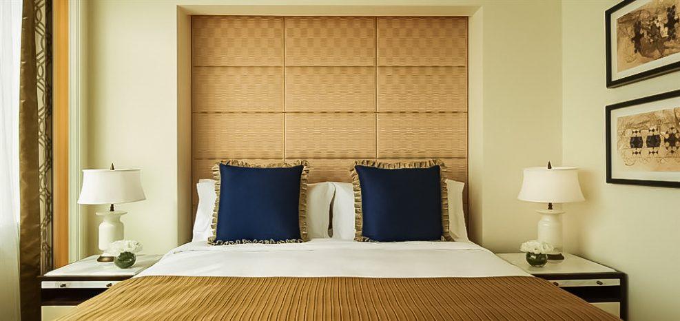 The St. Regis Abu Dhabi Luxury Hotel - Abu Dhabi, United Arab Emirates - Junior Suite Bedroom