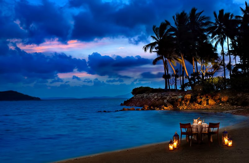 InterContinental Hayman Island Resort - Whitsunday Islands, Australia - Beachfront Dining Night