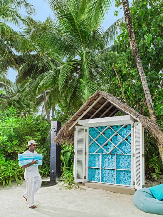 One&Only Reethi Rah Luxury Resort - North Male Atoll, Maldives - Beach Club Towels