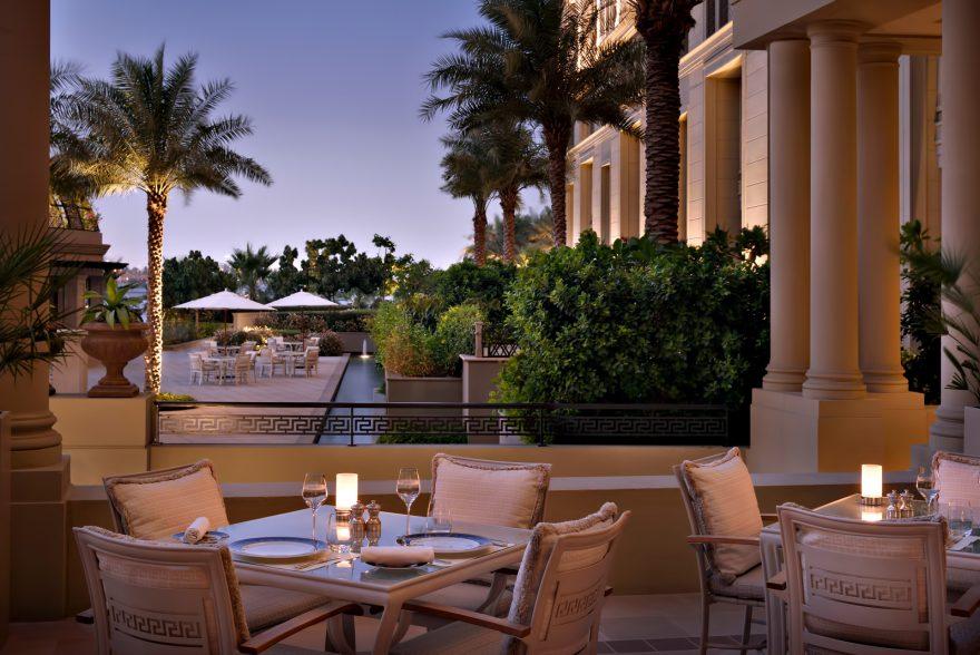 Palazzo Versace Dubai Hotel - Jaddaf Waterfront, Dubai, UAE - Vanitas Restaurant Terrace