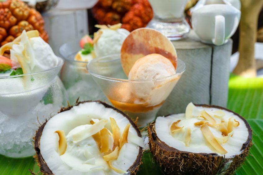 Soneva Jani Luxury Resort - Noonu Atoll, Medhufaru, Maldives - The Gathering Overwater Dining Chocolate and Ice Cream