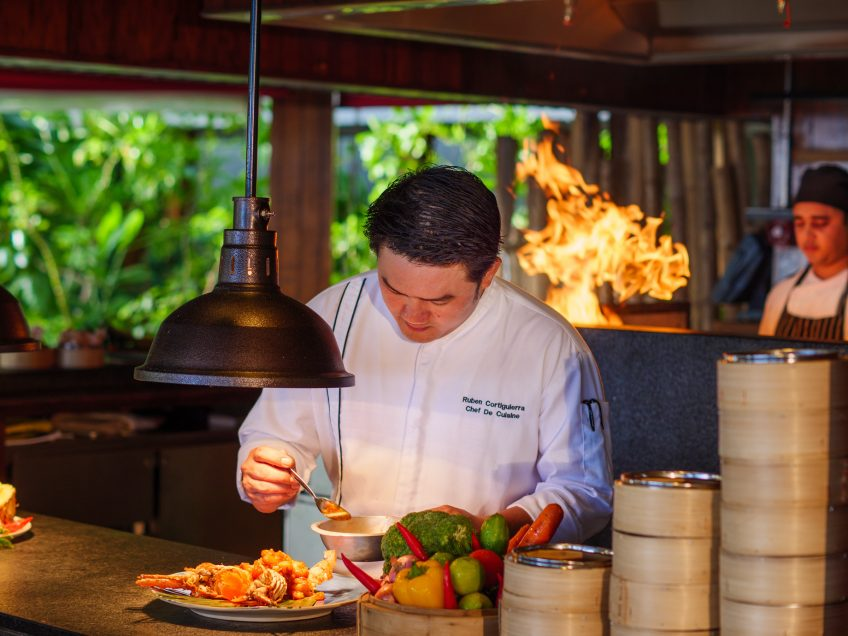 Amilla Fushi Luxury Resort and Residences - Baa Atoll, Maldives - EAST Restaurant Chef
