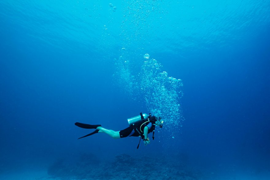 One&Only Reethi Rah Luxury Resort - North Male Atoll, Maldives - Underwater Scuba Diving