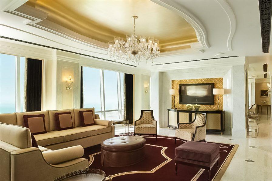 The St. Regis Abu Dhabi Luxury Hotel - Abu Dhabi, United Arab Emirates - Al Hosen Suite Majlis