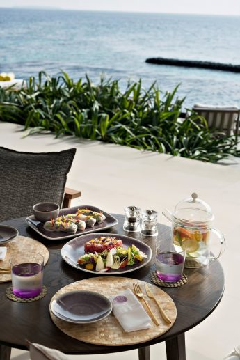 Cheval Blanc Randheli Luxury Resort - Noonu Atoll, Maldives - Private Villa Dining