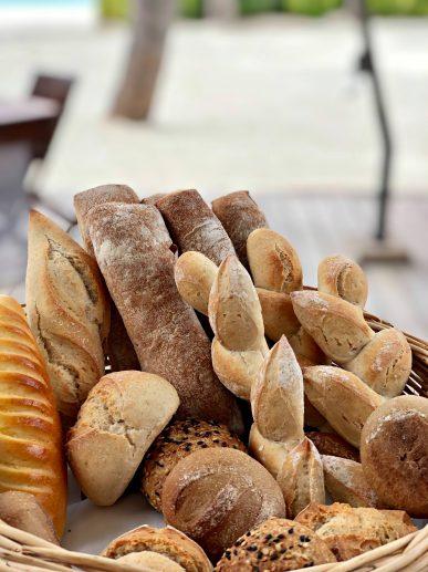 Cheval Blanc Randheli Luxury Resort - Noonu Atoll, Maldives - Private Island Dining Fresh Bread