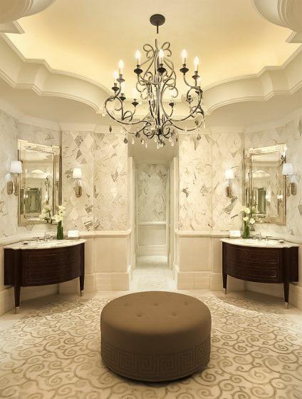 The St. Regis Abu Dhabi Luxury Hotel - Abu Dhabi, United Arab Emirates - Luxury Ladies Restroom