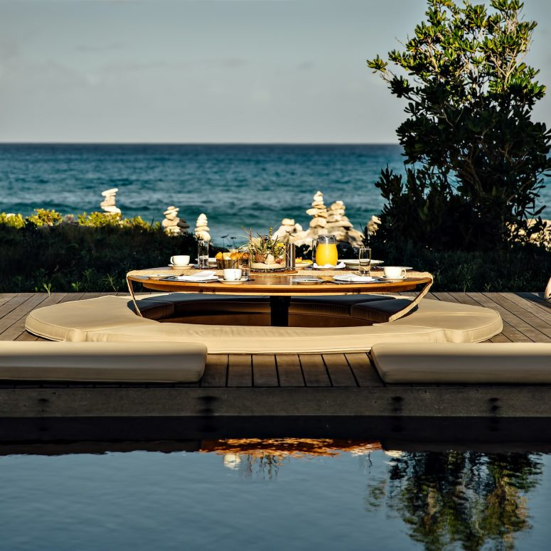 Amanyara Luxury Resort - Providenciales, Turks and Caicos Islands - Iconic Tropical Oceanview Dining