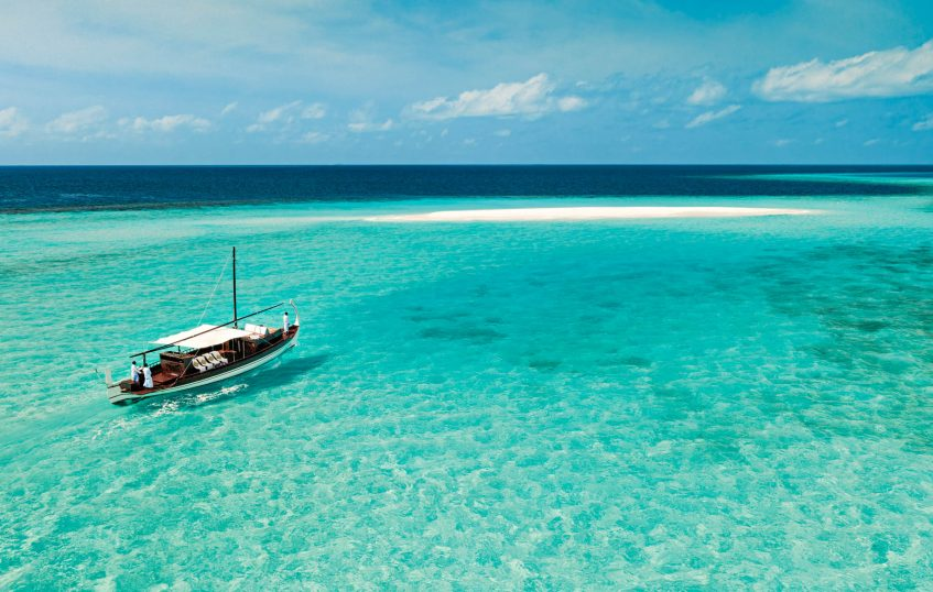 One&Only Reethi Rah Luxury Resort - North Male Atoll, Maldives - Tropical Ocean Dhoni Boat