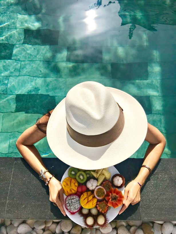 Cheval Blanc Randheli Luxury Resort - Noonu Atoll, Maldives - Private Island Poolside Fruit Desserts