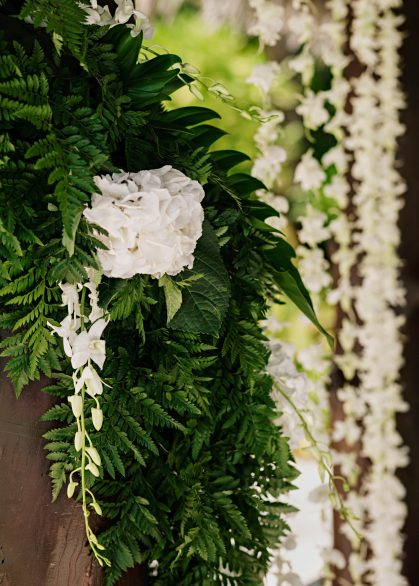 One&Only Reethi Rah Luxury Resort - North Male Atoll, Maldives - Resort Wedding Day Flowers