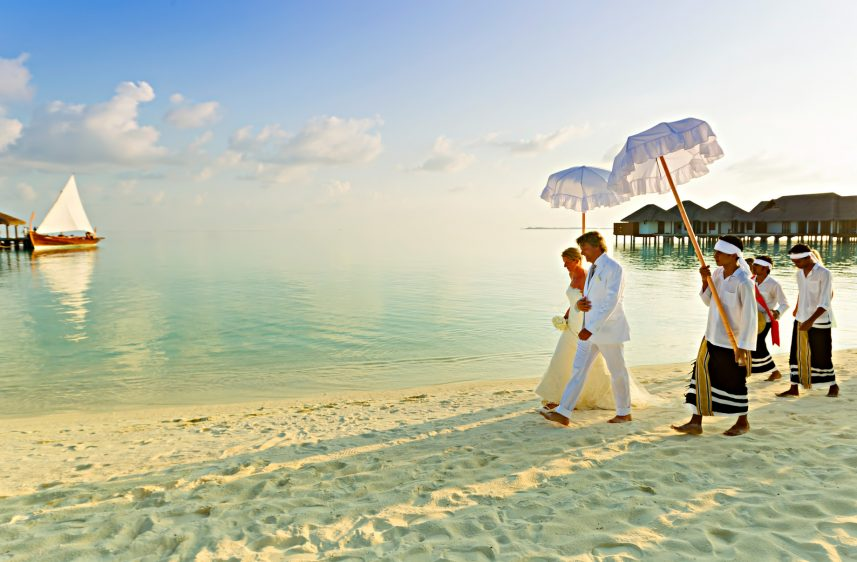 Velassaru Maldives Luxury Resort – South Male Atoll, Maldives - Beach Wedding