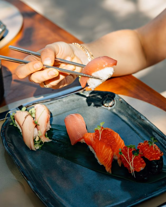 Amanyara Luxury Resort - Providenciales, Turks and Caicos Islands - Fresh Sushi