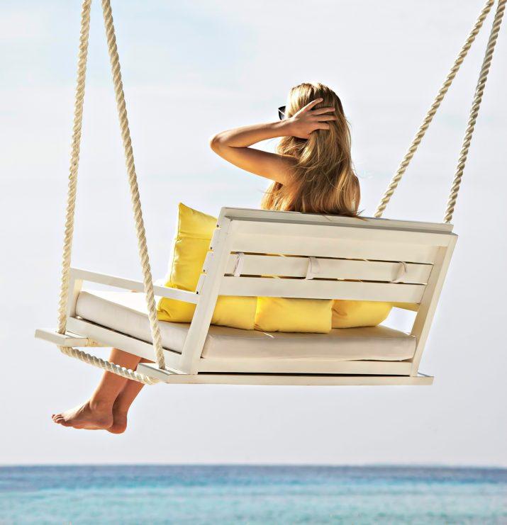 Cheval Blanc Randheli Luxury Resort - Noonu Atoll, Maldives - Oceanfront Swing