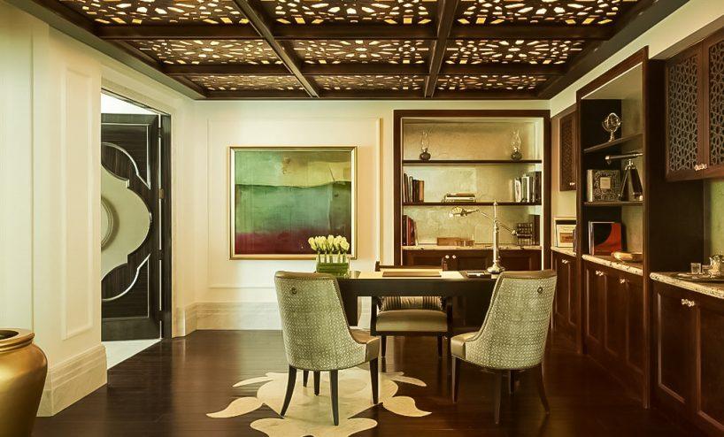 The St. Regis Abu Dhabi Luxury Hotel - Abu Dhabi, United Arab Emirates - Studio Area