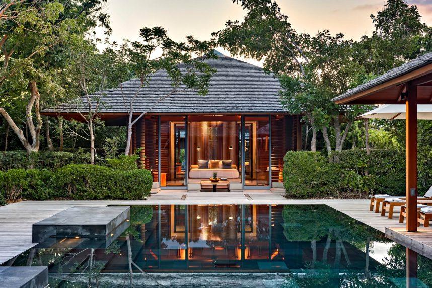 Amanyara Luxury Resort - Providenciales, Turks and Caicos Islands - Asian Iinspired Pagoda Style Pavilions