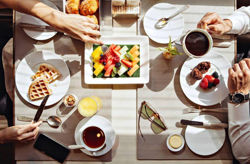 Armani Hotel Dubai - Burj Khalifa, Dubai, UAE - Armani Breakfast