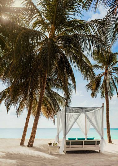 One&Only Reethi Rah Luxury Resort - North Male Atoll, Maldives - Beach Club Oceanfront Cabana