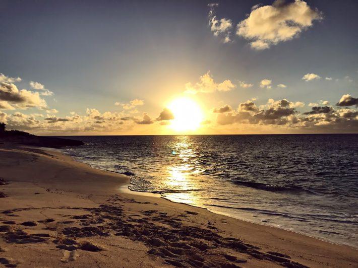 Amanyara Luxury Resort - Providenciales, Turks and Caicos Islands - Beach Sunset