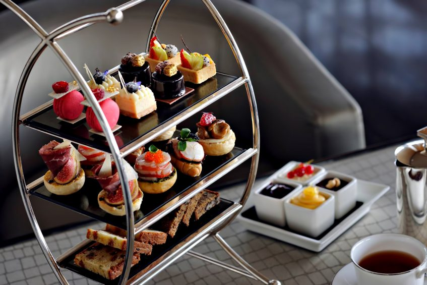 Armani Hotel Dubai - Burj Khalifa, Dubai, UAE - Armani Lounge Tea Experience