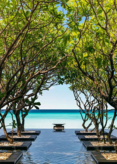 One&Only Reethi Rah Luxury Resort - North Male Atoll, Maldives - Zen Pond Ocean View