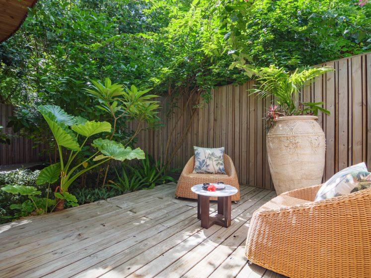 Amilla Fushi Luxury Resort and Residences - Baa Atoll, Maldives - Javvu Spa Relaxation Deck