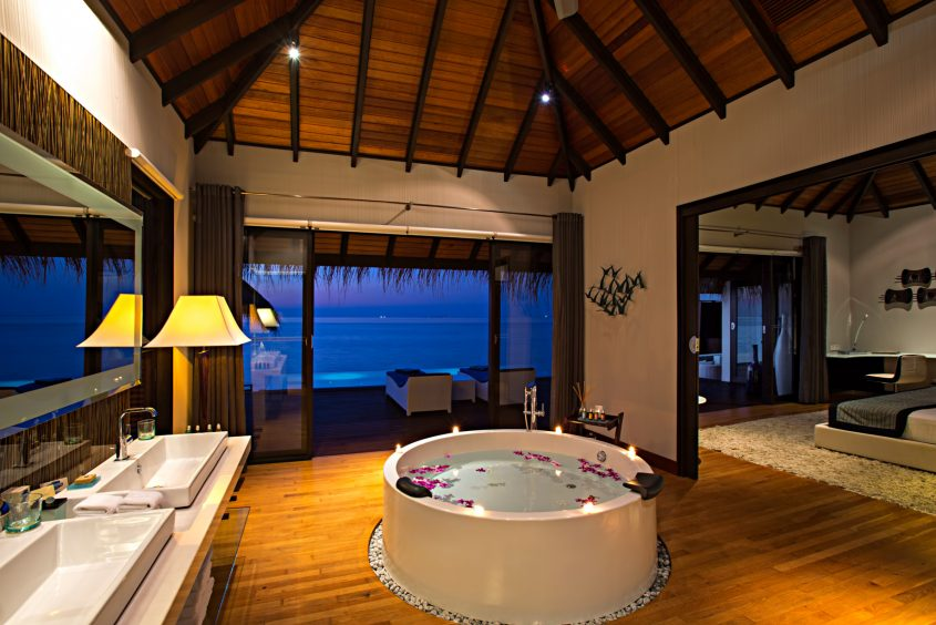 Velassaru Maldives Luxury Resort – South Male Atoll, Maldives - Beach Villa Sunset