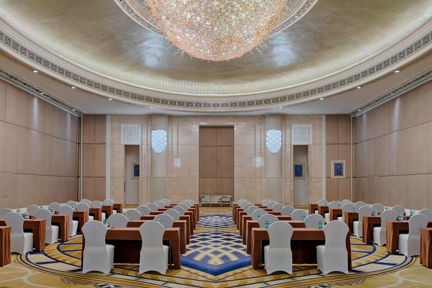 The St. Regis Abu Dhabi Luxury Hotel - Abu Dhabi, United Arab Emirates - Ballroom
