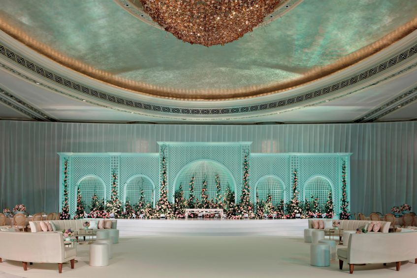 The St. Regis Abu Dhabi Luxury Hotel - Abu Dhabi, United Arab Emirates - Ballroom Wedding