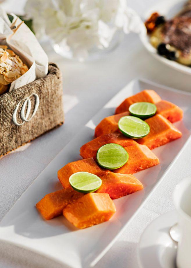 One&Only Reethi Rah Luxury Resort - North Male Atoll, Maldives - International Cuisine Salmon
