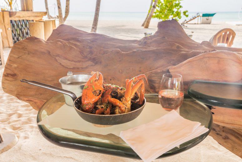 Soneva Jani Luxury Resort - Noonu Atoll, Medhufaru, Maldives - Dining Crab Shack