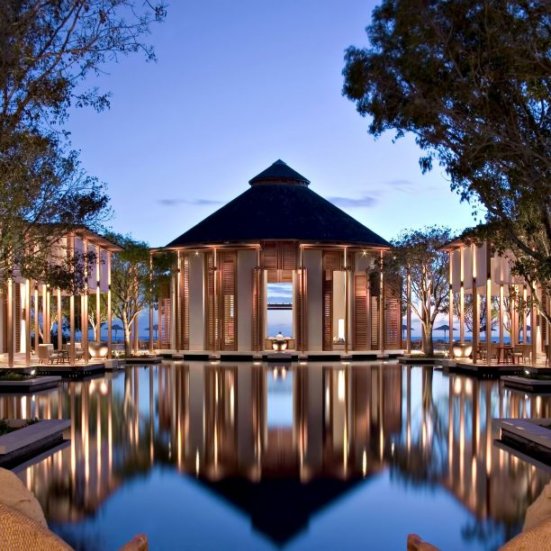 Amanyara Luxury Resort - Providenciales, Turks and Caicos Islands - Resort at Dusk