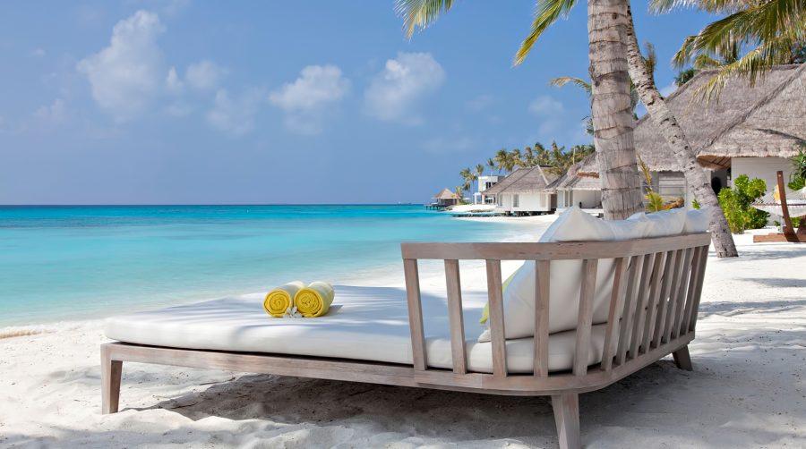 Cheval Blanc Randheli Luxury Resort - Noonu Atoll, Maldives - Beachfront Lounge Chair