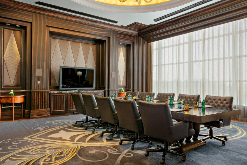 The St. Regis Abu Dhabi Luxury Hotel - Abu Dhabi, United Arab Emirates - Liwa Boardroom