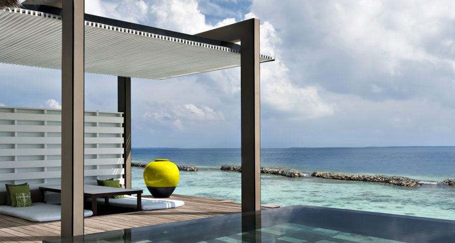 Cheval Blanc Randheli Luxury Resort - Noonu Atoll, Maldives - Oceanfront Villa Infinity Pool Deck