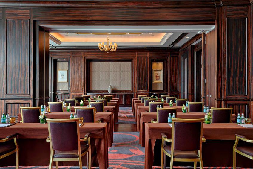 The St. Regis Abu Dhabi Luxury Hotel - Abu Dhabi, United Arab Emirates - Al Khaznah Classroom Set Up