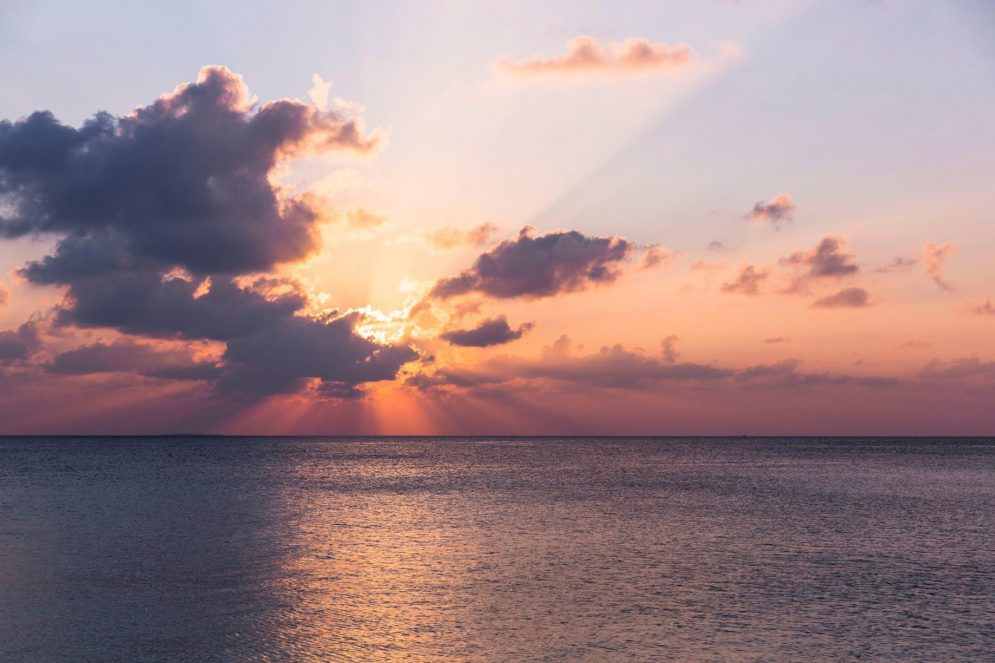 Amilla Fushi Luxury Resort and Residences - Baa Atoll, Maldives - Ocean Sunset