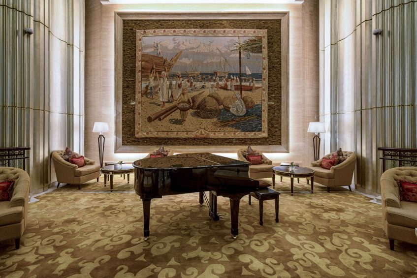 The St. Regis Abu Dhabi Luxury Hotel - Abu Dhabi, United Arab Emirates - Grand Piano