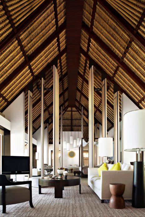 Cheval Blanc Randheli Luxury Resort - Noonu Atoll, Maldives - Private Villa Living Room
