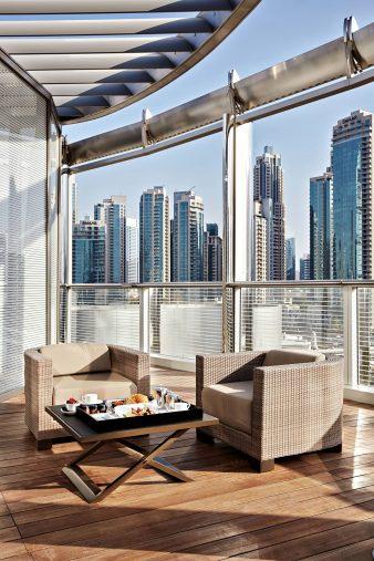 Armani Hotel Dubai - Burj Khalifa, Dubai, UAE - Armani Private Balcony