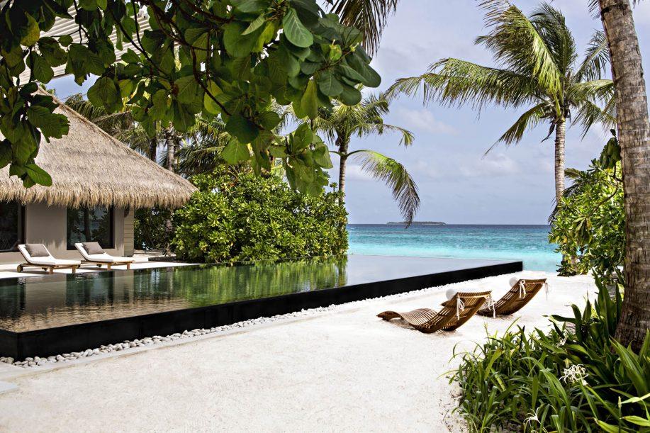 Cheval Blanc Randheli Luxury Resort - Noonu Atoll, Maldives - Private Island Villa Beachfront Infinity Pool