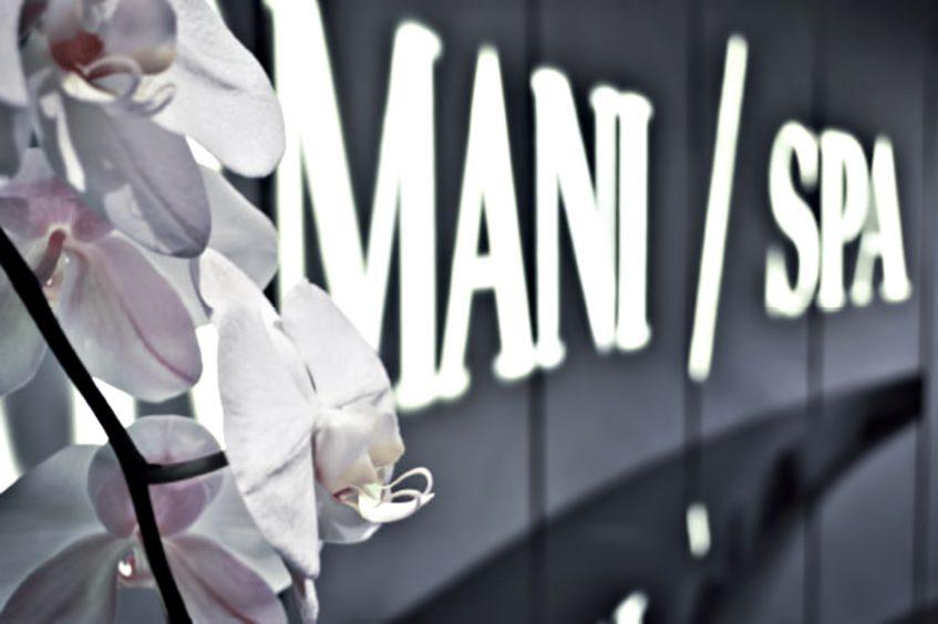Armani Hotel Dubai - Burj Khalifa, Dubai, UAE - Armani SPA Entrance