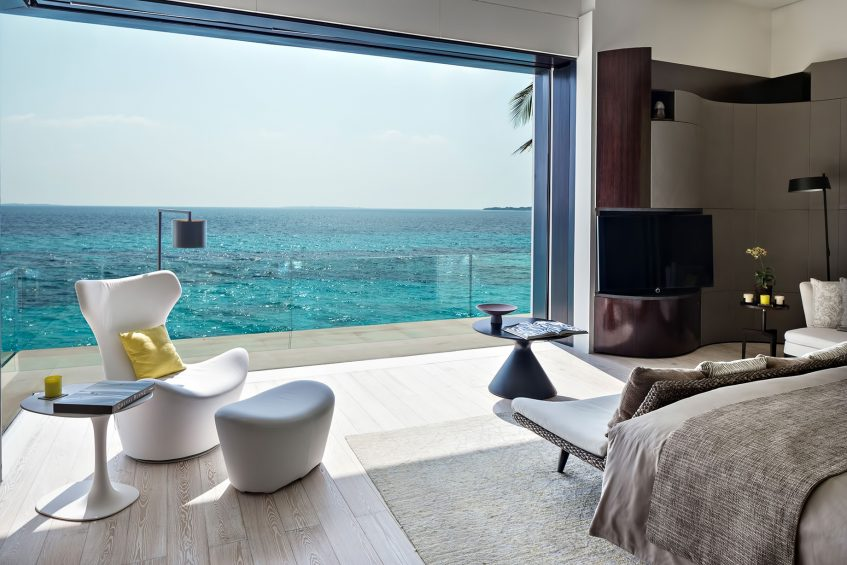 Cheval Blanc Randheli Luxury Resort - Noonu Atoll, Maldives - Private Island Villa Bedroom Oceanview
